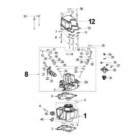 Czujnik oleju Peugeot 125/150ccm