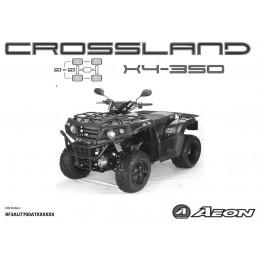 Aeon Crossland 350x4 - katalog części