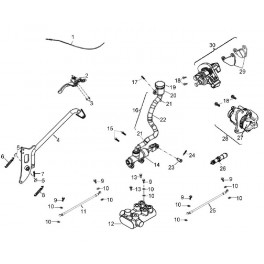 Klocki hamulca postojowego / ręcznego Aeon Crossland 300