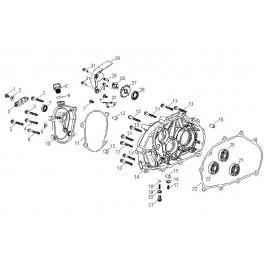 Zębatka napędowa przednia Aeon 320/350