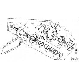 Pasek napędowy Aeon 180 - zamiennik