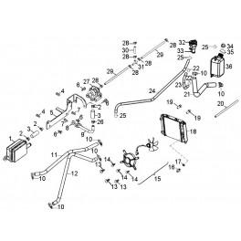 Czujnik / wyłącznik termiczny wentylatora chłodnicy Aeon 220/300/320/350