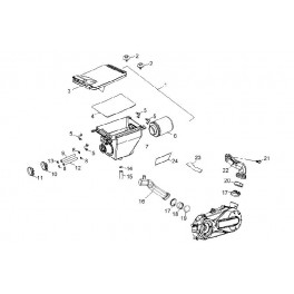 Filtr powietrza Aeon 220/300/320/350